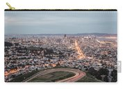 A View Of San Francisco At Twighlight Carry-all Pouch