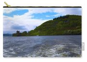 A View Of Urquhart Castle Carry-all Pouch