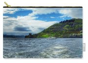 A View Of Urquhart Castle From Loch Ness Carry-all Pouch