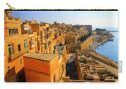 A View Of Valletta's Waterfront Carry-all Pouch