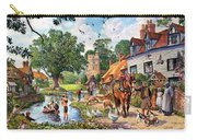 A Village In Summer Carry-all Pouch