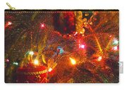 A Vintage Christmas  Carry-all Pouch by Laurie Lundquist
