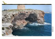 Xviii Defensive Tower In Alcafar Minorca - A Walk About Cliffs Carry-all Pouch