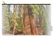 A Walk Among The Giant Sequoias Carry-all Pouch