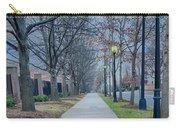 A Walk On A Sidewalk Street Alley Carry-all Pouch