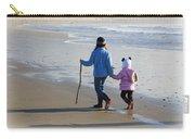 A Walk On The Beach Carry-all Pouch