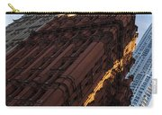 A Warm Slice Of Sunshine - Manhattan's Potter Building At Sunrise Carry-all Pouch