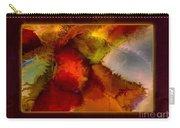A Warrior Spirit Abstract Healing Art Carry-all Pouch