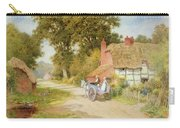 A Warwickshire Lane Carry-all Pouch by Arthur Claude Strachan