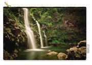 A Waterfall In Hana, Maui Carry-all Pouch
