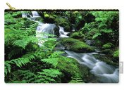 A Waterfall In Redwood National Park Carry-all Pouch