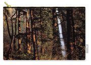 A Waterfall Tumbles Through The Forest Carry-all Pouch