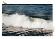 A Wave Breaks  Cannon Beach, Oregon Carry-all Pouch