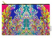 A Welcome Art Colorful Full Of Energy   The Digital Graphics Have Been Derived From Nature Photograp Carry-all Pouch