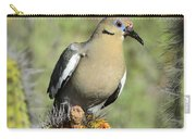 A White Winged Dove  Carry-all Pouch