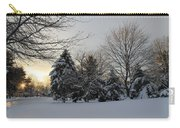 A White Winter's Morning Carry-all Pouch