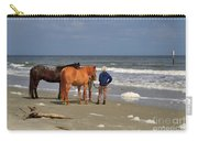 A Windy Day At Hunting Island Beach Carry-all Pouch