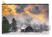 A Winter Sky Paint Version Carry-all Pouch