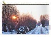 A Winter Wonderland Walk Carry-all Pouch