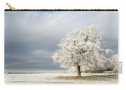 A Winter's Morning Carry-all Pouch by Anne Gilbert