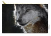 A Wolf 2 Digital Art  Carry-all Pouch
