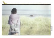 A Woman And The Sea Carry-all Pouch by Joana Kruse