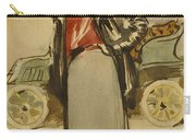 A Woman Driver Carry-all Pouch