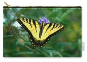 A Yellow Butterfly Carry-all Pouch