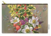 A Yuletide Posy Carry-all Pouch