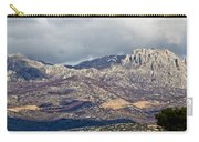A1 Highway Croatia Velebit Mountain Road Carry-all Pouch