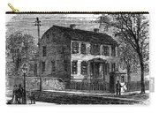 Aaron Burr Birthplace Carry-all Pouch