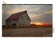 Abanded Barn At Sunset Carry-all Pouch