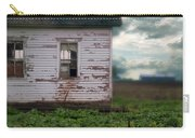 Abandoned Building In A Storm Carry-all Pouch