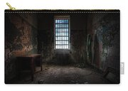 Abandoned Building - Old Room - Room With A Desk Carry-all Pouch