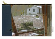 Abandoned Cabin Elkmont Smoky Mountains - Screened Door Old House Carry-all Pouch