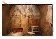 Abandoned - Eastern State Penitentiary - Life Sentence Carry-all Pouch by Mike Savad