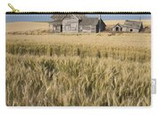 Abandoned Farmhouse In Wheat Field Carry-all Pouch
