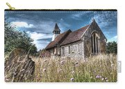 Abandoned Grave In The Churchyard Carry-all Pouch