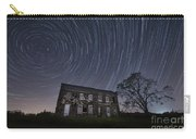 Abandoned History Star Trails Carry-all Pouch by Michael Ver Sprill