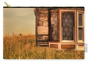 Abandoned House In Grass Carry-all Pouch