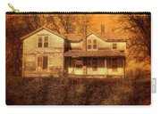 Abandoned House Sunset Carry-all Pouch by Jill Battaglia