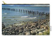 Abandoned Old Pier In Puerto Natales Chile Carry-all Pouch