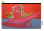 Abandoned Red Fishing Trawler Carry-all Pouch
