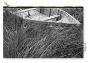 Abandoned Row Boat Along The Shoreline On Prince Edward Island Carry-all Pouch