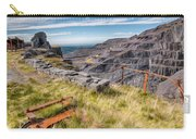 Abandoned Slate Quarry Carry-all Pouch