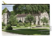 Abbey Fontenay Burgundy Carry-all Pouch