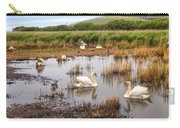 Abbotsbury Swannery Carry-all Pouch by Joana Kruse