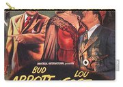 Abbott And Costello Meet The Invisible Man  Carry-all Pouch