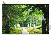 Abby Aldrich Rockefeller Path Statuary Carry-all Pouch