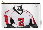 Abe Lincoln In A Matt Ryan Atlanta Falcons Jersey Carry-all Pouch